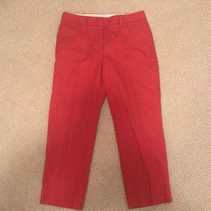 Nantucket Red Lands' End Cropped Pants